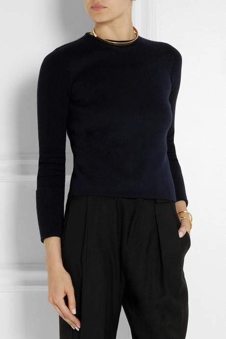 Calvin Klein Collection Cashmere-blend sweater