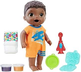 Hasbro Baby Alive Snackin Luke Doll