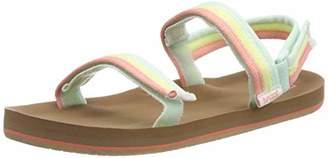 Reef Girls' Little Ahi Convertible Flip Flops