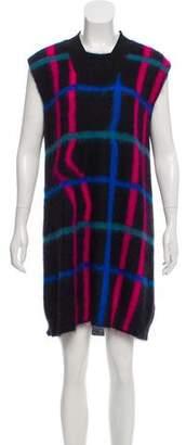 Kenzo Mohair Mini Dress