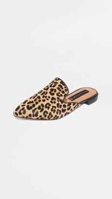Steven Valente Leopard Mules
