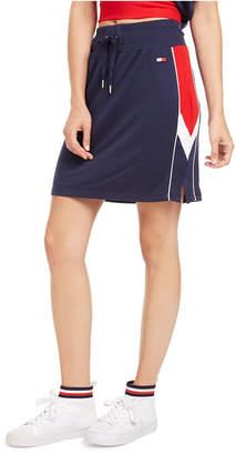 Tommy Hilfiger Side-Striped Pencil Skirt