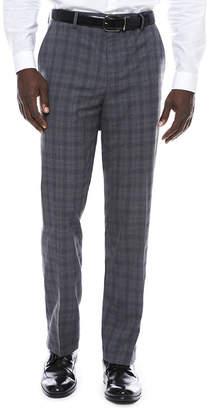 Jf J.Ferrar JF Men's Stretch Woven Flat-Front Classic Fit Suit Pants