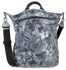 Valentino Butterfly-Print Crossbody Bag