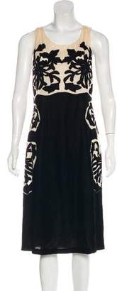 Bottega Veneta Sleeveless Velvet Dress