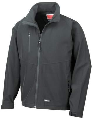 47fe0b0bd5c Result Mens 2 Layer Base Softshell Breathable Wind Resistant Jacket (L)