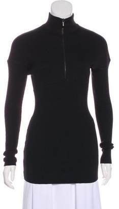 Alaia Long Sleeve Wool Sweater