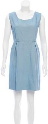 Balenciaga Sleeveless Mini Dress