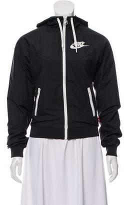 Nike Hooded Zip-Up Jacket