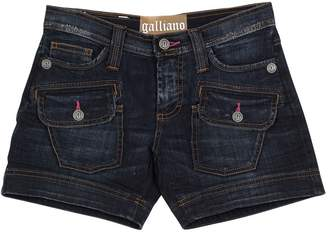 Galliano Denim shorts