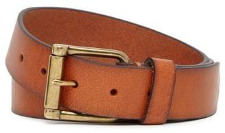 Joe's Jeans Hand Burnished Full Grain Leather Belt