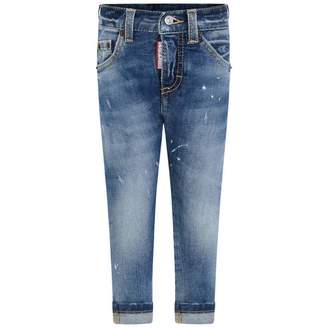 DSQUARED2 Dsquared2Baby Boys Blue Denim Jeans
