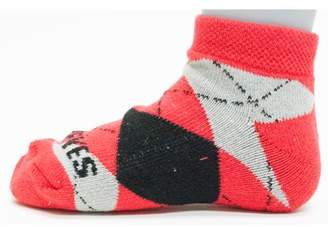 Donegal Bay Ohio State Buckeyes Youth Argyle No Show Sock
