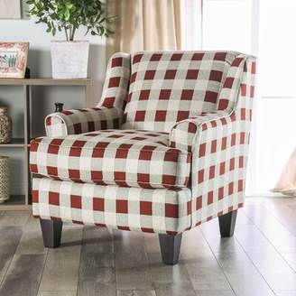 Canora Grey WoodWard Swain Striped Armchair Canora Grey