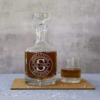 The Glass Yard Personalised Birthday Decanter