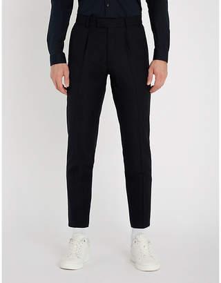 Sandro Jupiter regular-fit wool trousers