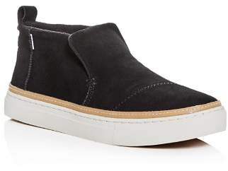 Toms Women's Paxton Suede Mid Top Sneakers