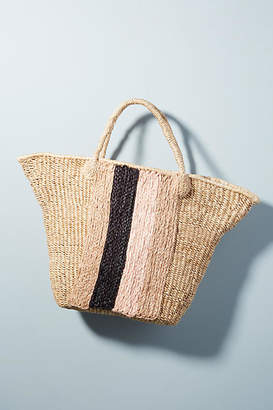 Indego Africa Striped Panel Tote Bag