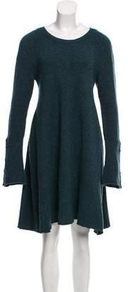 Balenciaga Wool Knee-Length Dress