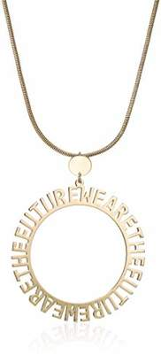 BCBGeneration BCBG Generation Affirmation Circle Pendant Long Necklace