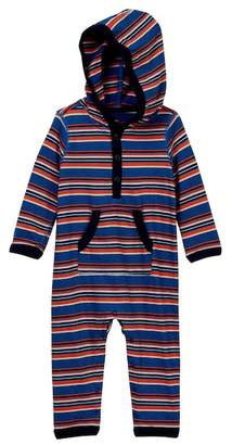 Tea Collection Ugie Hooded Romper (Baby Boys)