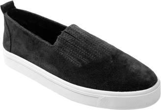 Minnetonka Suede Leather Slip-On Sneakers - Gabi