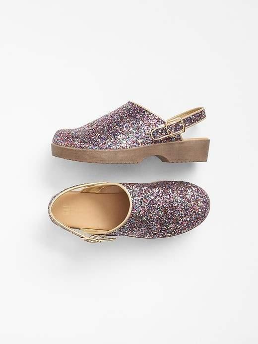 Glitter Clogs