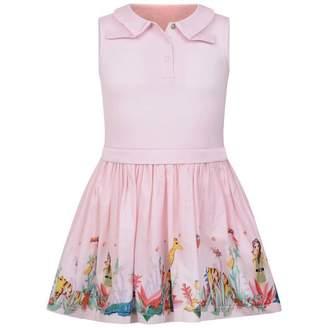 Oilily OililyGirls Pink Jungle Print Dizolde Dress