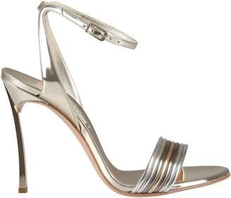 Casadei Blade Multi-metal Sandals