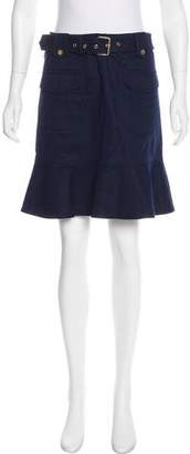 Tory Burch Cargo Mini Skirt