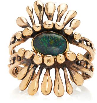 Lisa Eisner Australian Black Opal Headdress Cuffs