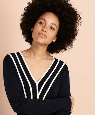 Brooks Brothers Faux Wrap Sweater