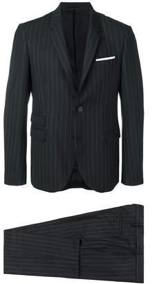 Neil Barrett striped two-piece suit