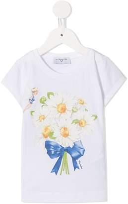MonnaLisa daisy bouquet T-shirt