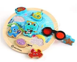Baby Einstein Hape Submarine Adventure Wooden Puzzle with Color Reveal Glasses