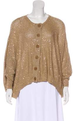 Stella McCartney Sequin Knit Cardigan