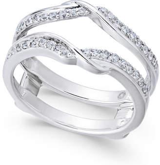 Macy's Diamond Enhancer Ring Guard (1/3 ct. t.w.) in 14k White Gold