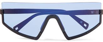 Westward Leaning Stun D-frame Matte-acetate Sunglasses