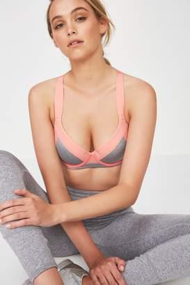 Body Medium Impact Contour Sports Bra