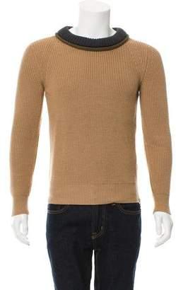 Belstaff Wool Rib Knit Sweater