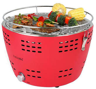 Tayama Tyq-001 Portable Charcoal Grill in Red