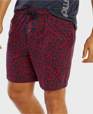 Nautica Men Anchor-Print Pajama Shorts