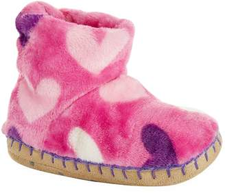 Hatley Hearts Slipper Booties