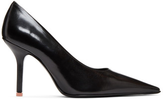 Acne Studios Black Leather Heels