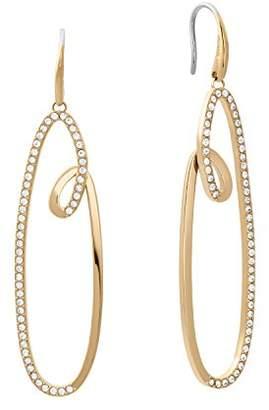 Michael Kors Womens Brilliance -Tone Earrings