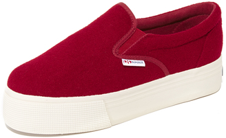 Superga 2314 Wool Sneakers $99 thestylecure.com