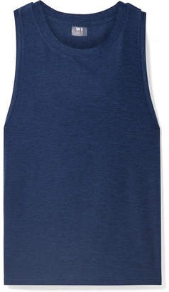 We/Me - The Foundation Stretch-jersey Tank - Navy