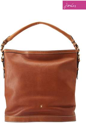 Next Womens Joules Tan Leather Bucket Bag 217928e8ddde4