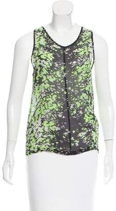 Pringle Abstract Print Sleeveless Top
