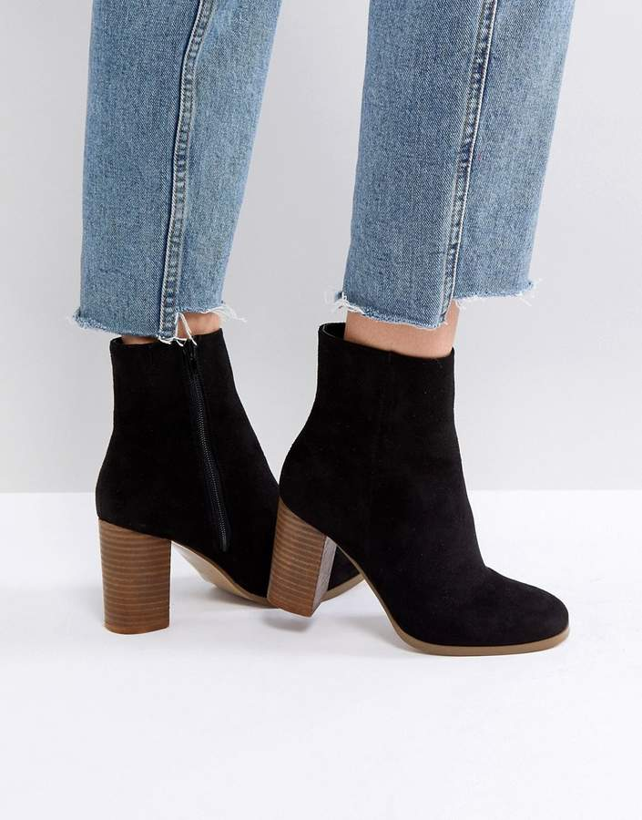 ASOS DESIGN ASOS ELITA Heeled Ankle Boots